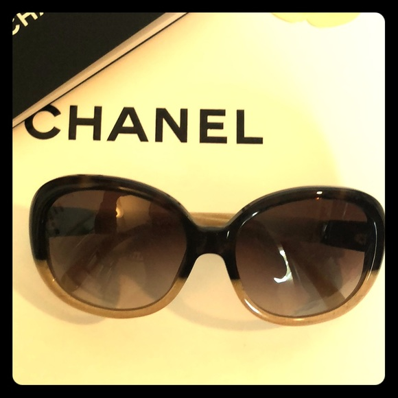 021dd4f73e2c CHANEL Accessories - Gorgeous vintage Chanel shades in ombré tones!